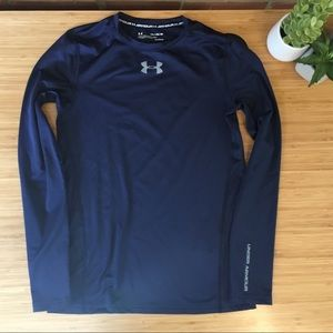 Under Armour Fitted Long Sleeve Cold Gear Size YXL
